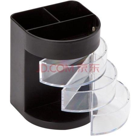 C2004 Plastový stojan na perá čierny