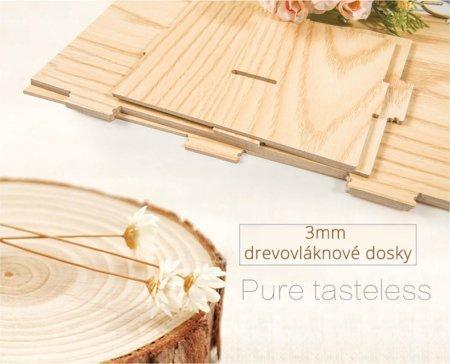 Vyrobené z drevovláknových dosiek
