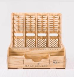D9121-kombinovaný drevený diy stojan