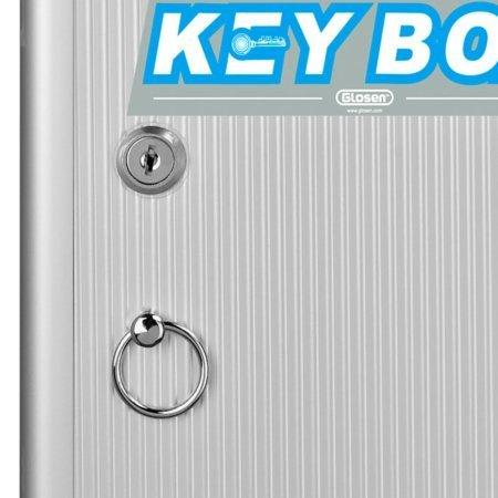Hliníková skrinka na 24 kľúčov otváranie