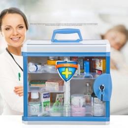 Praktická domáca lekárnička na stenu s uzamykaním
