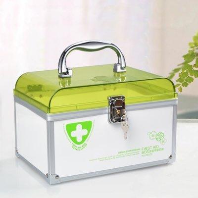 Plastová prenosná lekárnička s uzamykaním