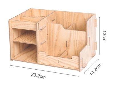 D2068 Kompaktný drevený DIY stojan