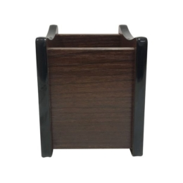 Stojan na písacie potreby tmavé drevo/orech
