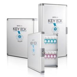 KeyBox Hliníková skrinka na kľúče (24)